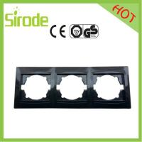 9206-83 Black Anti-fire Switch Wall Plate Manufactures