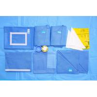 Blue CE EO Sterile SMMS Disposable Surgical Packs Hospital OB Pack Manufactures