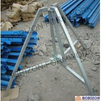 Removable Steel Folding Tripod For Holding Shoring Props in Slab Formwork System Manufactures