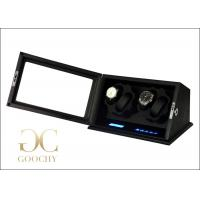 China Battery Operated Ebony Watch Winder , Case For Automatic Watches  on sale