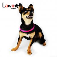Buy cheap Rechargeable Airmesh Material Led Dog Harness , Easy Walk Dog Collar from wholesalers