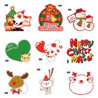 Christmas Theme Gifts Self Adhesive Sticky Labels Custom Adhesive Labels Manufactures