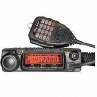 Mobile Transceiver with 60W (VHF), 40W (UHF)/25/10W Output Power, CTCSS/DCS Scan and More Manufactures