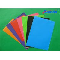 Color Car Decoration Self Adhesive Vinyl Film with 100 Micron Thickness 140g/sqm Weight Manufactures
