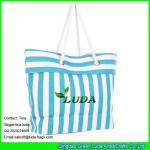 LUDA striped women paper straw handbags Manufactures