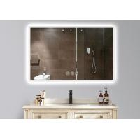 Dimmable Anti Fog LED Illuminated Bathroom Mirror With Demister 600 X 900mm Size Manufactures