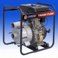3 Inches Diesel Trash Pump with High-effective Mechanical Seal and 26mm Maximum Head Manufactures