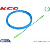 Rodent-resistant SM cable SC/APC to LC/APC sinplex armored optical fiber patch cables armoured cord jumper
