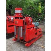 China Small Hydraulic chuck Core Drilling Equipment Mechanical drive Quarry Core Drill Rig on sale