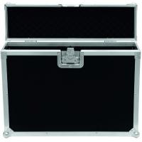Black 9mm Plywood / Rack Flight Case With Wheels / Storage Cases for Light Manufactures