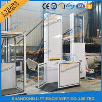 Aluminum Alloy Powder Coating Hydraulic Wheelchair Lift , Patient Lifting Hoists Manufactures