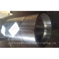 16Mo3 Steel Forged Ring Forged Cylinder Flange Heat Treatment And Machined Manufactures