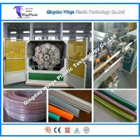 China Plastics Extruder Plastic Pipe Production Line for PVC Spiral Reinforced Hose on sale
