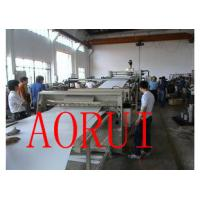 ABS / HIPS Plastic Sheet Extrusion Line Hot Work Steel for Jelly Cups Manufactures