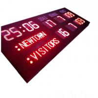 China AFL Type LED Electronic Scoreboard With 18 Digits In Red Color For Australia Sport Club on sale
