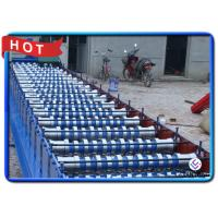 China Construction Building Material Sheet Metal Forming Equipment , Hard Chrome Coated Stud Forming Machine on sale