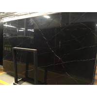 Nero Marquina Polished Natural Marble Tile Bathroom Marble Shower Floor Tile Manufactures