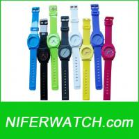 PVC Nixon Quartz Watch Manufactures