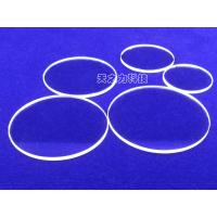 China Custom Made Artificial Flat Watch Glass Anti - Reflective Coatings Available on sale