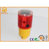 360 Degree Visibility Traffic Safety Equipment Solar Powered Barricade Light for Traffic Cones