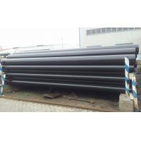 Hot Roll BS EN10219 S355 Black Carbon Steel Seamless Tubing Pipes For Industry
