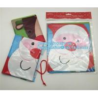 Quality LDPE Plastic Christmas House Giant Poly Sack For Gift Bike Bag Cheap Price Christmas Decoration Santa Bag bagplastics ba for sale