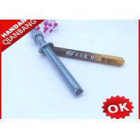 High Performance Chemical Anchor Bolt  M12*100 , Chemical Anchor Fasteners Standard Manufactures
