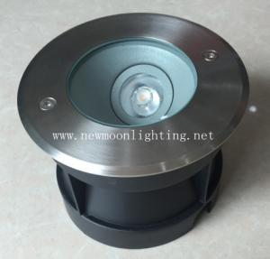 150mm diameter IP67 8W  side output led ingroud light Manufactures