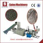 waste plastic recycling machine plastic PP PE material pelletizing granulator Manufactures