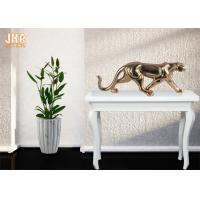 Gold Foil Polyresin Animal Figurines Indoor Decor Manufactures