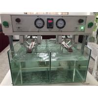 Quality Rubber Boots Water Permeability Testing Machine , Socks Waterproof Tester for sale