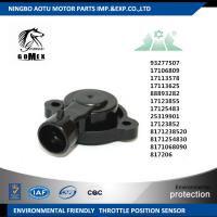 China CHEVROLET Throttle position Sensor Replacement 17125483 25319901 17123852 8171238520 93277507 on sale