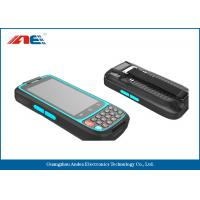 13.56MHz RFID Handheld Readers RFID Mobile Terminal With Anti Collision Algorithm Manufactures