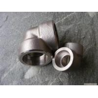 Quality Forged High Pressure Pipe Fittings Threaded Stainless Steel 90 Degree Elbow for sale