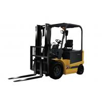 1.0T 4-Wheel Electric Forklift Truck with energy efficiency Manufactures