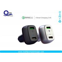 Quality 27W qualcomm quick charge 3.0 samsung car charger Dual small usb for Samsung for sale