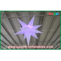 Wedding Party Event Stage Decoration Solar Inflatable Lighting Led Star Manufactures