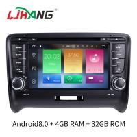 7 INCH Audi A4 Dvd Player , BT WIFI Dvd Player ST TDA7388 For Android