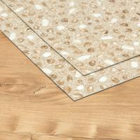 China High End Interlocking Vinyl Planks , Solid Vinyl Plank Flooring Stone Pattern Designed on sale