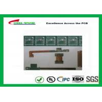Rigid-Flex Quick Turn PCB Prototypes Base on IPC-2223 Guidelines Yellow and Green Manufactures