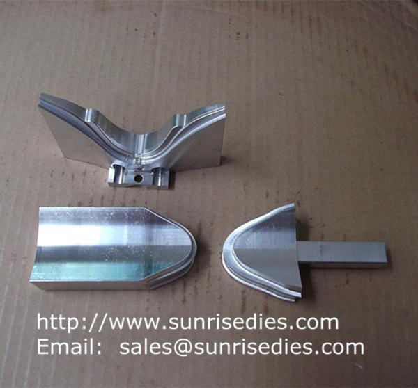 CNC milling aluminum component parts