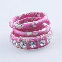 Bangles with Cloth, OEM Designs and Orders are Welcome, Suitable for Summer Manufactures