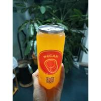 China 500ml PET Plastic Beverage Solutions Easy Open Aluminum Cap For Juice And Soft Drink on sale