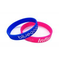 Cartoon Figure Printing Promotional Silicone Wristbands For Promotional Gifts Manufactures