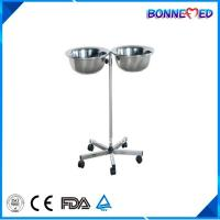 BM-E3014 Medical Hospital Furniture Stainless Steel Mayo Table with Bowl Manufactures