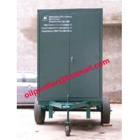 Oil Filtration System Trailer-mounted Hi-vac Transformer Oil Purifier, Dielectric Oil Manufactures