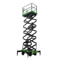 14 Meters Mobile Scissor Lift Hydraulic Man Lift Aerial Work Platform 500Kg Loading Capacity Manufactures