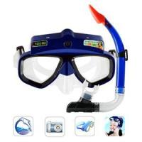 Underwater 1MP Mega Sports Action Scuba Mask CMOS 1280x960 Camera Manufactures