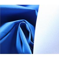 Blue 196T Polyester Taslan Fabric 75 * 160D , Soft Rayon Spandex Knit Fabric Manufactures