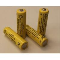 1.2V Cylindrical NICD Rechargeable Batteries AA900mAh UL Manufactures